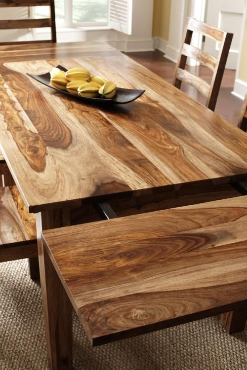 Corvette Dining Table  Solid Wood. Best 25  Rustic wood dining table ideas on Pinterest   Dining