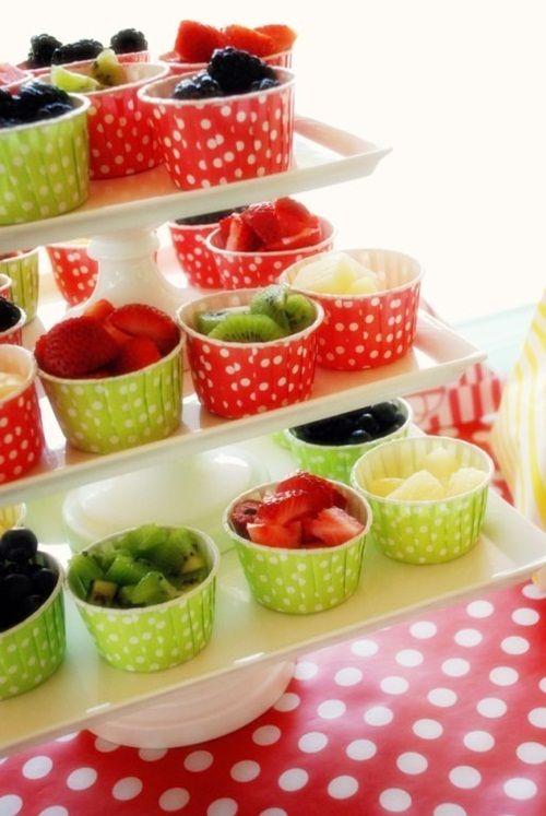 Deliciosos postres de frutas cargados de vitaminas Recetas Fiestas Infantiles Pinterest