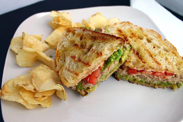 Avocado-Tuna Panini