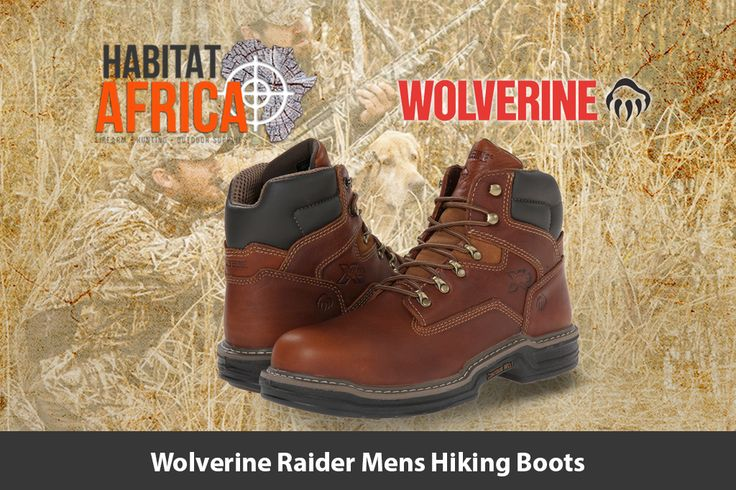 The Wolverine Raider 6″ men's hiking boots features a full…