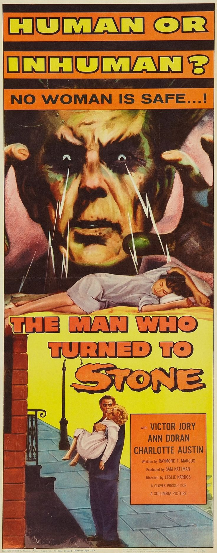 Ellen page films where she breaks the mold pop mythology - The Man Who Turned To Stone 1957