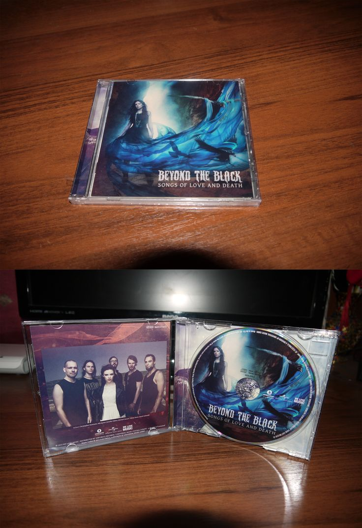 Beyond the Black - Songs of Love and Death (jewel case 2014) EU