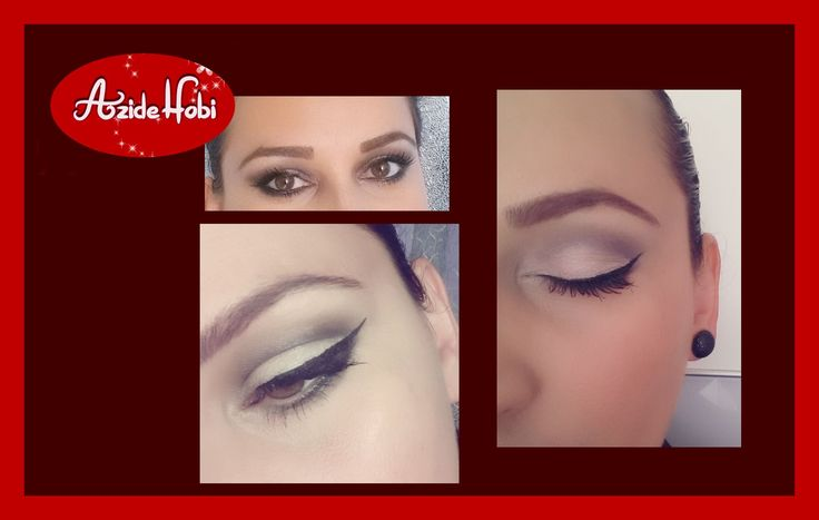 Göz makyaji / Bir kac örnek   Basit göz makyaji   Azide Hobi