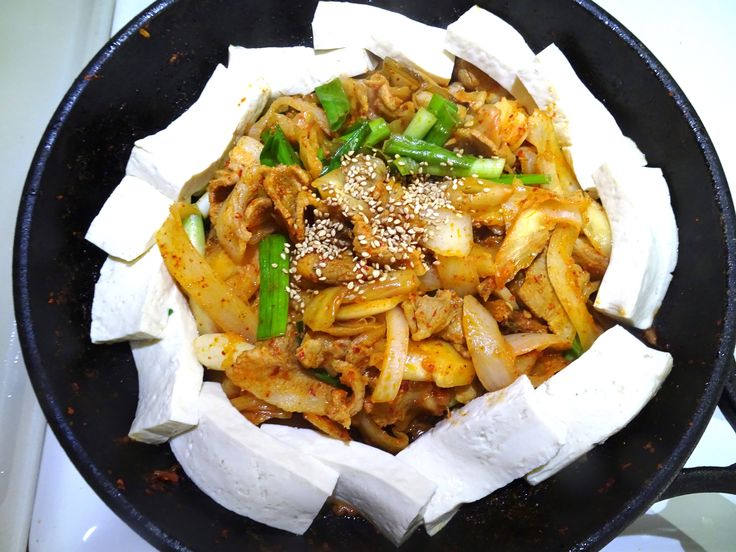 Hello Everyone! Today's recipe is tofu-kimchi. We will be stir-frying pork with kimchi. This dish is great to eat with some boiled tofu, and trust me it is great with rice!*Whenever my dad sees this, he thinks of soju >.< * In addition, tofu is also great for your health (soy bean power!!) Lets get… Read More How to Make: Tofu-Kimchi (두부 김치 만들기 ^^)