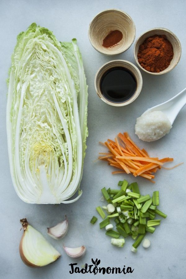Łatwe kimchi » Jadłonomia · wegańskie przepisy nie tylko dla wegan