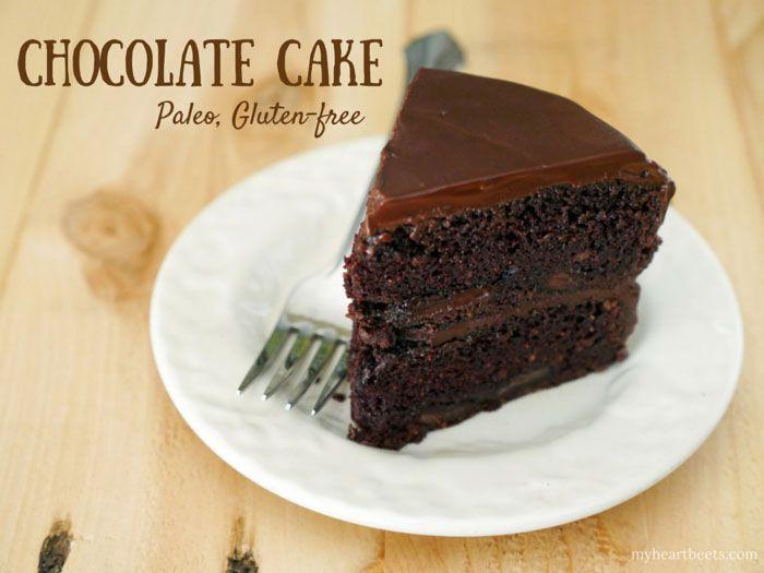 Paleo Chocolate Cake - My Heart Beets