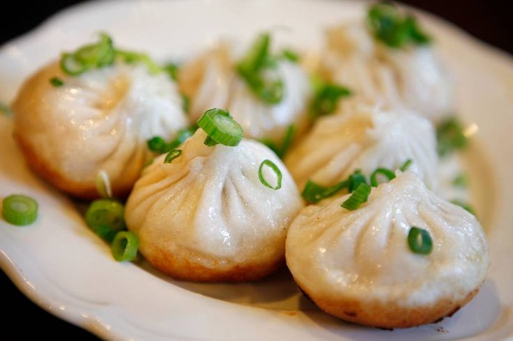 Pan-fried pork buns at Shanghai Street Dumpling.