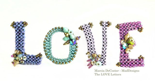 Bead Love: The Love Letters V by Marcia DeCoster