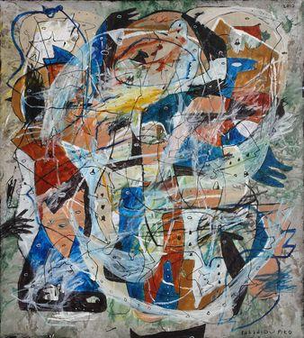 "Saatchi Art Artist Iabadiou Piko; Painting, ""Wish you were mine"" #art"