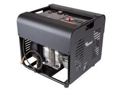Air Venturi Air Compressor, Electric, 4500 PSI/310 Bar   Air Venturi 4500 psi Electric Air Compressor  Max fill pressure 4500 psi Adjustable output pressure, up to 4500 psi Automatic shut-off feature Internally water-cooled