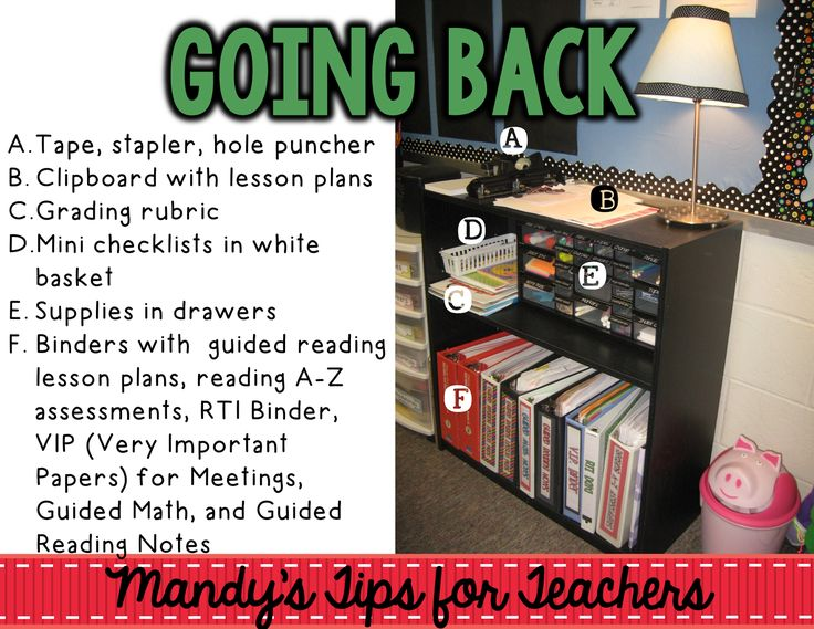 Mandy's Tips for Teachers: Desk or No Desk... That is the Question