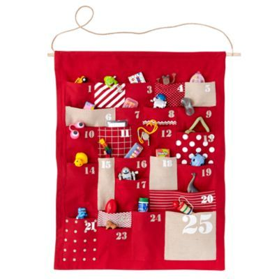 All Shapes and Sizes Countdown Calendar. {Land of Nod}