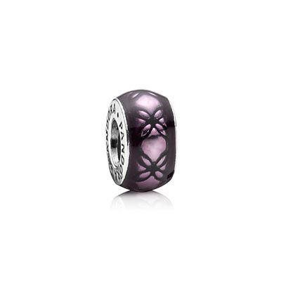 PANDORA | Floral vintage, purple enamel  From Olivia for my 37th birthday.