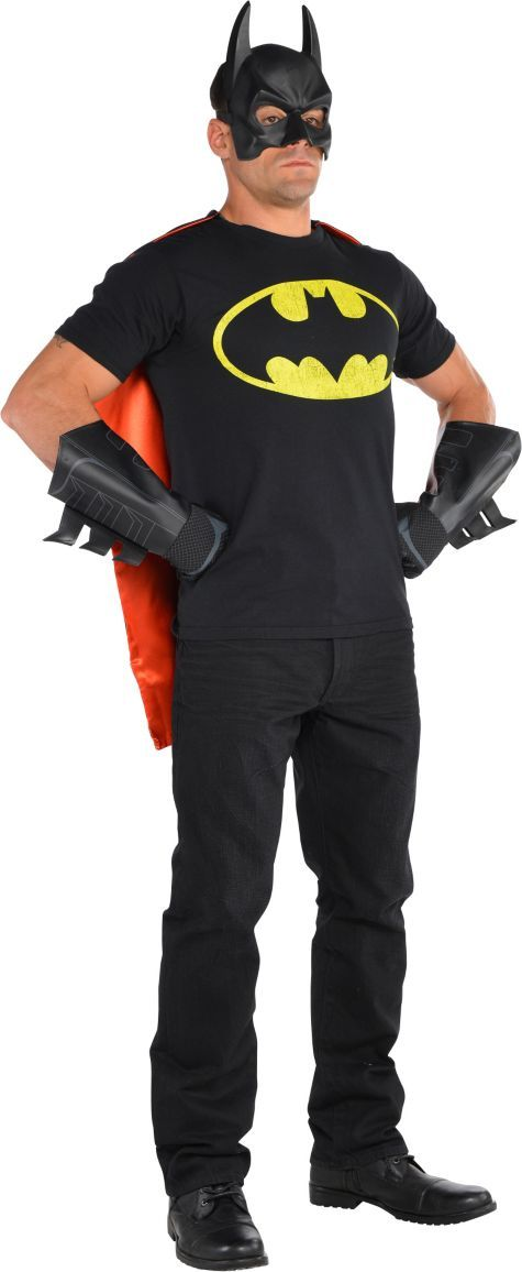 Adult Casual Bruce Batman Costume - Party City