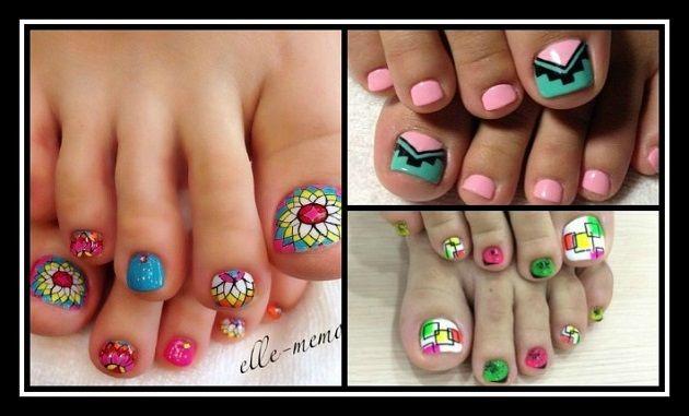 25+3 Εκπληκτικά σχέδια για τα νύχια των ποδιών σου! | ediva.gr