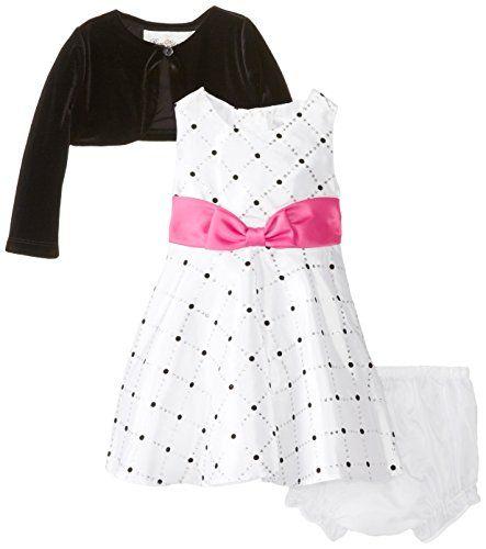Rare Editions Baby Baby-Girls Infant Tafetta Social Dress with Cardigan, White/Black, 12 Months Rare Editions http://www.amazon.com/dp/B00PB058S8/ref=cm_sw_r_pi_dp_bFLXub19V0KCG