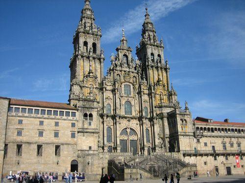 サンティアゴ・デ・コンポステーラ大聖堂(スペイン) Catedral de Santiago de Compostela, Spain #romanesque