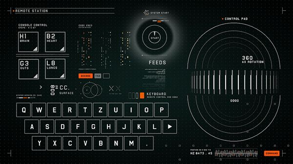 #2RISE FUTURISTIC MEDICAL INTERFACE by 2RISE, via Behance ...