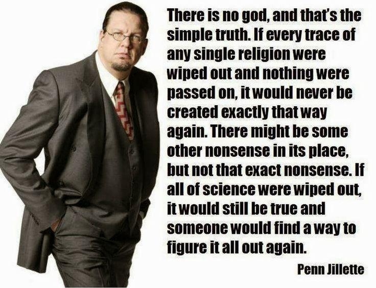 Acerbic Politics: Penn Jillette - the way the world works.
