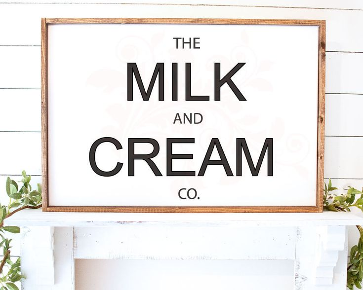 svg dxf png milk and cream co sign svg farmhouse kitchen decor farmhouse kitchen sign decor on farmhouse kitchen quotes free printable id=69479