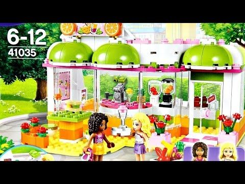 Heartlake Juice Bar LEGO Friends 41035