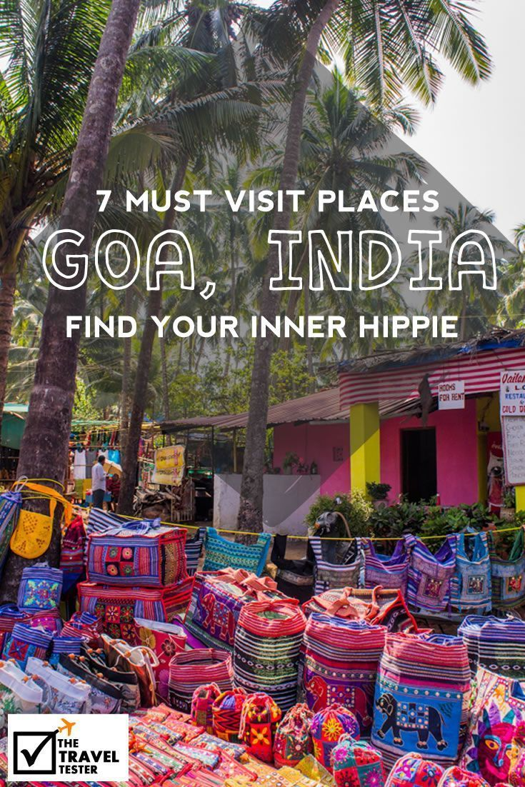 Places To See In Goa: Find Your Inner Hippie With These Peaceful Activities || The Travel Tester: Self-Development through Travel