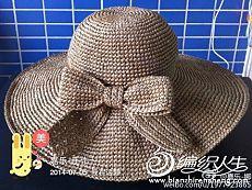 Стильная шляпка крючком / Вязание крючком / Вязаные крючком аксессуары