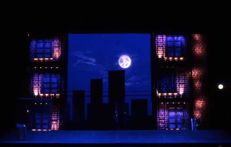 Scene from Philip Glass's The White Raven directed by Bob Wilson - Opera