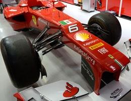 Scuderia Ferrari will race in India with the flag of the Italian Navy