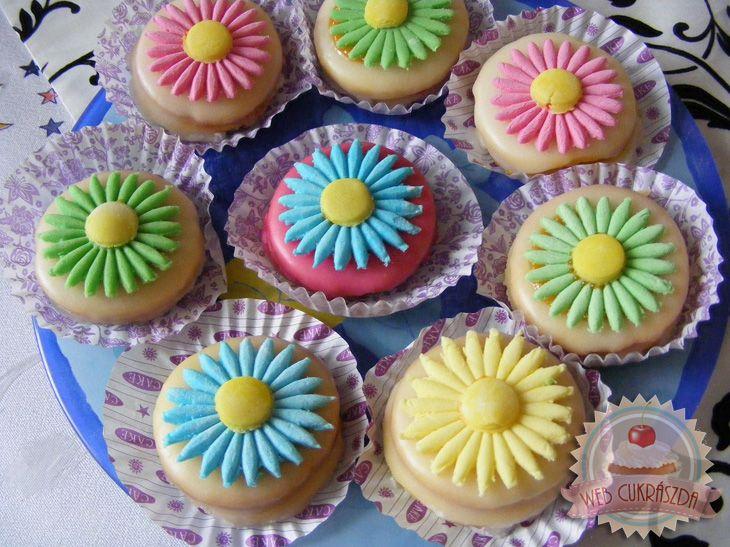 Százszorszépes sütemény