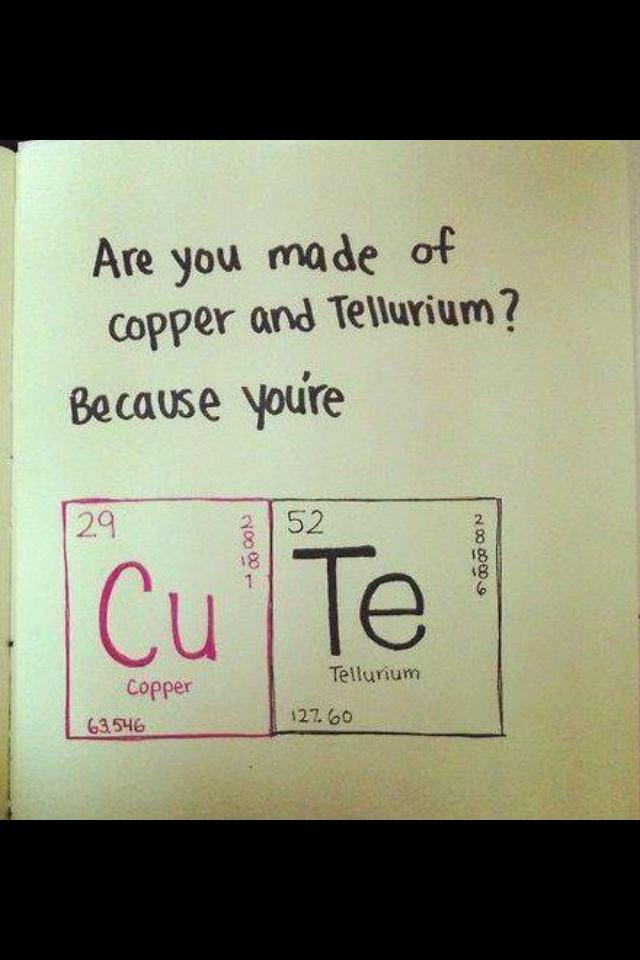 Chemistry Puns mija Pinterest