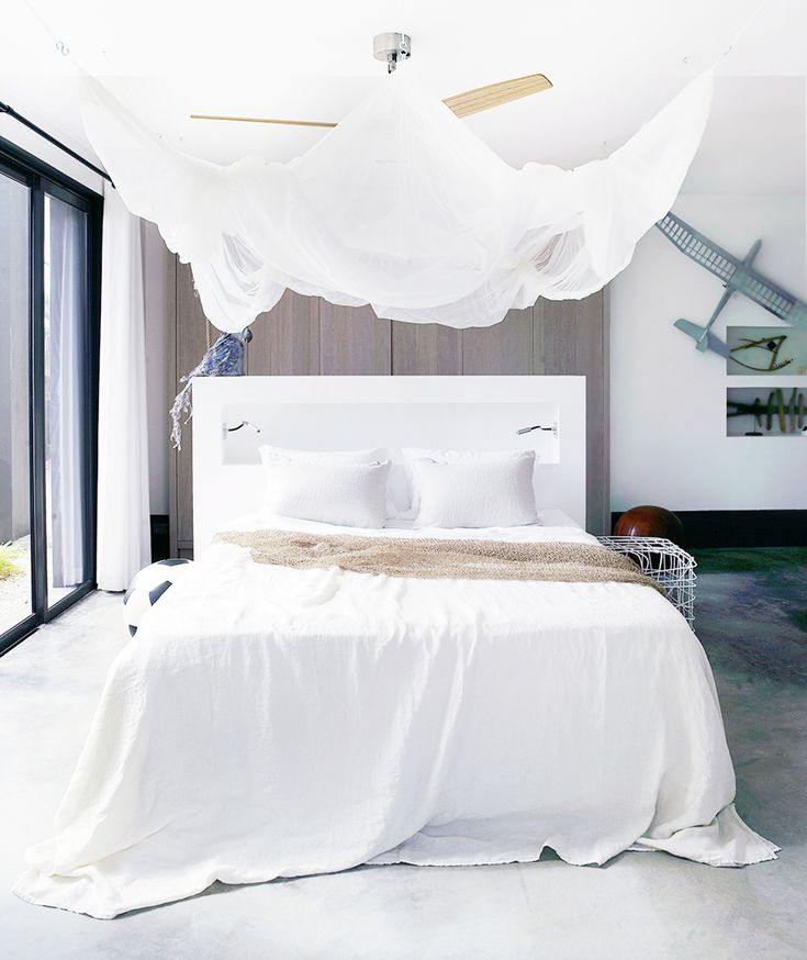 10 Hacks for Creating a Canopy Bed - Canopy over bed - Bedroom - DIY Project Inspiration