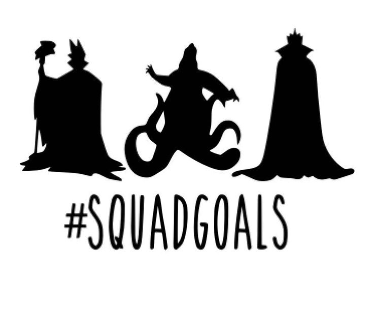 Disney Princess Svg Squad Goals Svg Files Clipart In Svg For