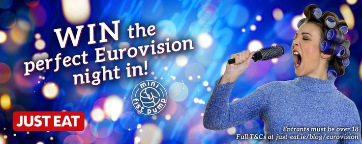 WIN the perfect Eurovision Night In with JUST EAT