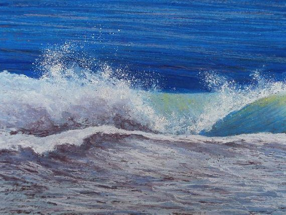 Deep blue sea by Cathy on Etsy