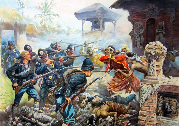 Dutch forces in battle in East Asia