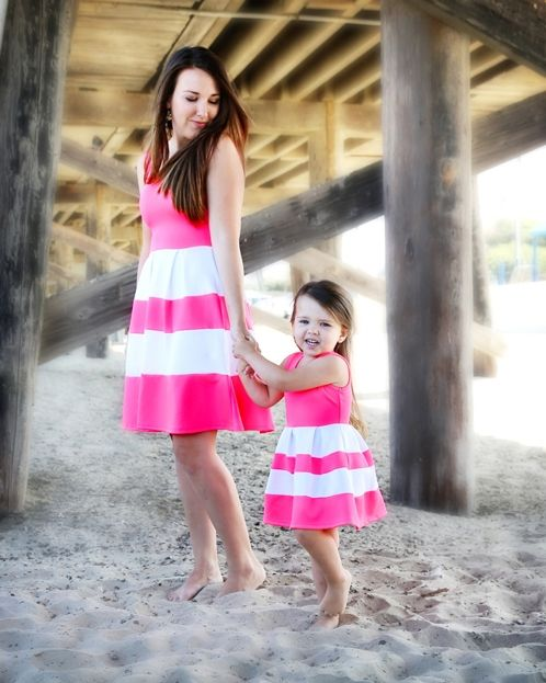 All Shook Up Dress, matching mommy and me dress from our Just Like Mommy Collection, Be Inspired Boutique