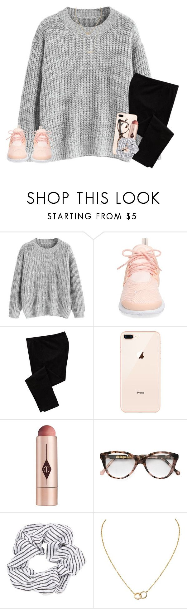 """:)"" by maggieholland00 ❤ liked on Polyvore featuring NIKE, Old Navy, Charlotte Tilbury, Cutler and Gross, Topshop, Cartier and Gorjana"
