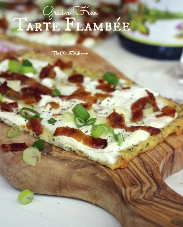 Tarte Flambée (grain free)
