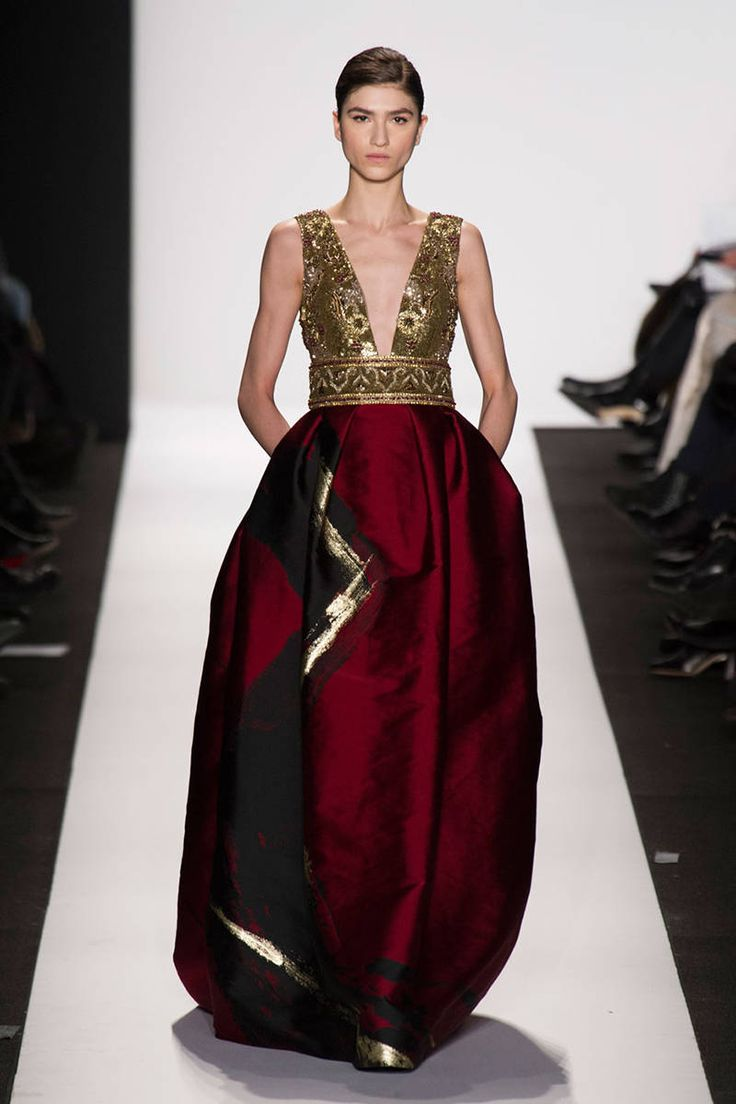 The Most Gorgeous Gowns from the New York Runways  Read more: Best Gowns New York Runways - Best Fashion Week Gowns - ELLE  Follow us: @ElleMagazine on Twitter | ellemagazine on Facebook  Visit us at ELLE.com