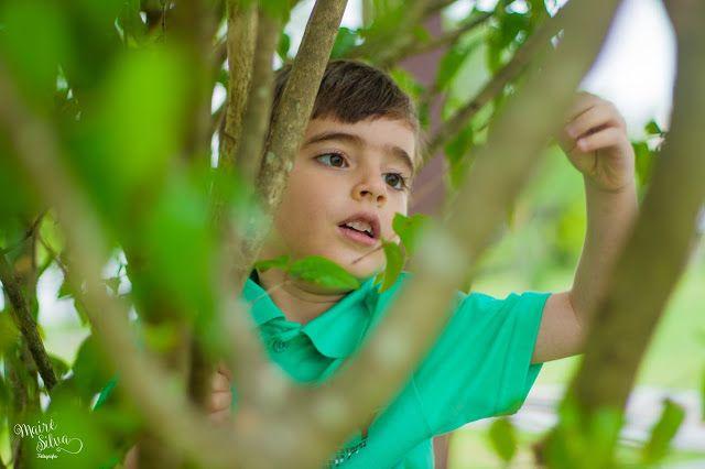 Mairê Silva FOTOGRAFIA: Ensaio Infantil Externo / Menino