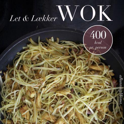 Wok med kylling, bacon og hvidkål - LCHF