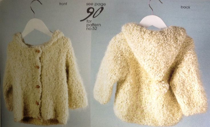 Bella Baby Parade Jacket. Knitted baby cardi 12m, 18m, 2y, 4y. Knitting Essentials Winter 2007.