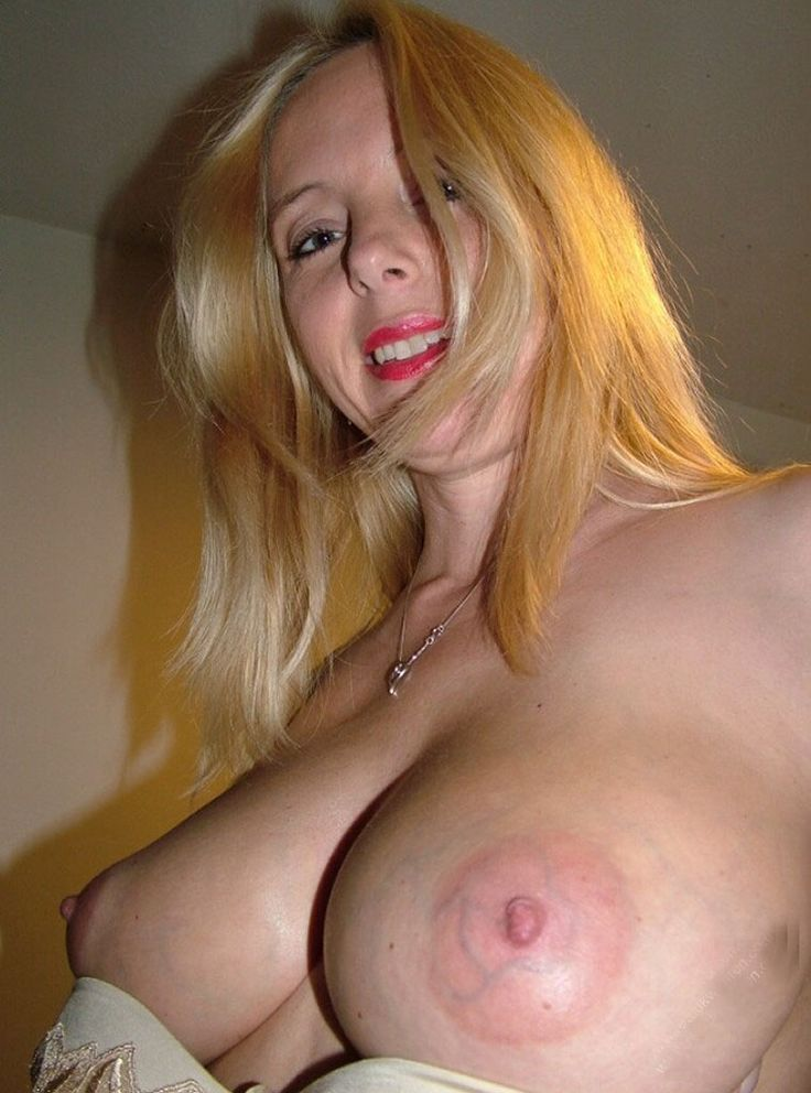 Blonde big tits mature milf in a dating service 10