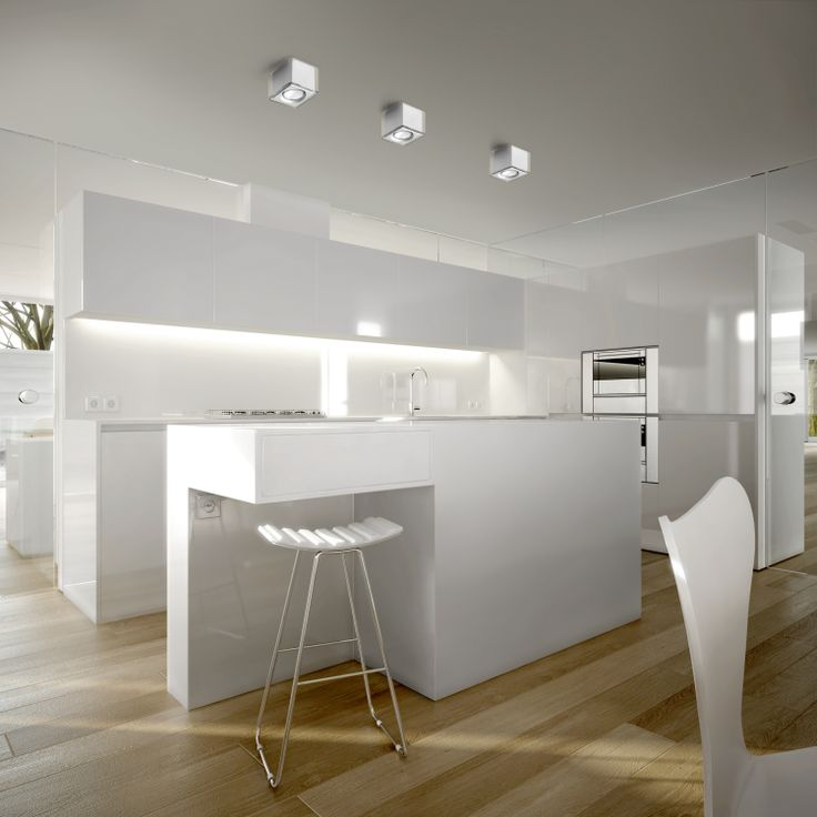 Clean Modern Kitchen So Simple Love The Meets Scandinavian Design Great Pendant Dining LightingKitchen