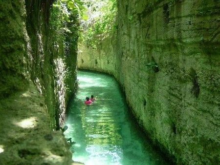 Xcaret in Mexico   You definitely must do this once in your lifetime.....It was amazing : )