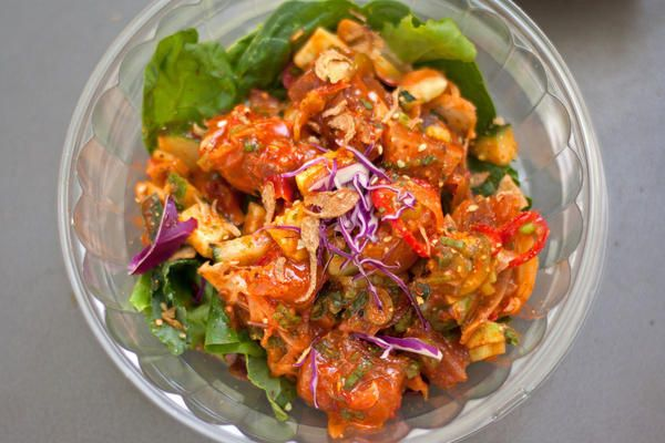 How much do Chicagoans love poke (pronounced poh-kay), the Hawaiian salad of cubed and marinated seafood?