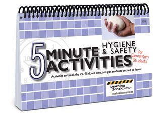 5 Minute Activities: Hygiene and Safety for Elementary Students