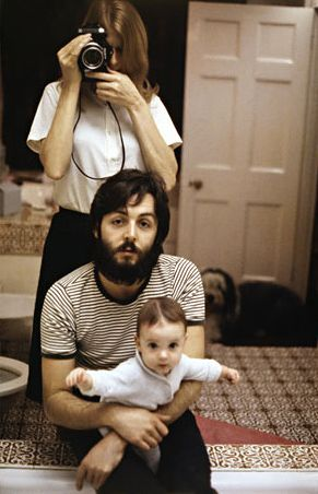 by Linda McCartney (with Paul and Stella)