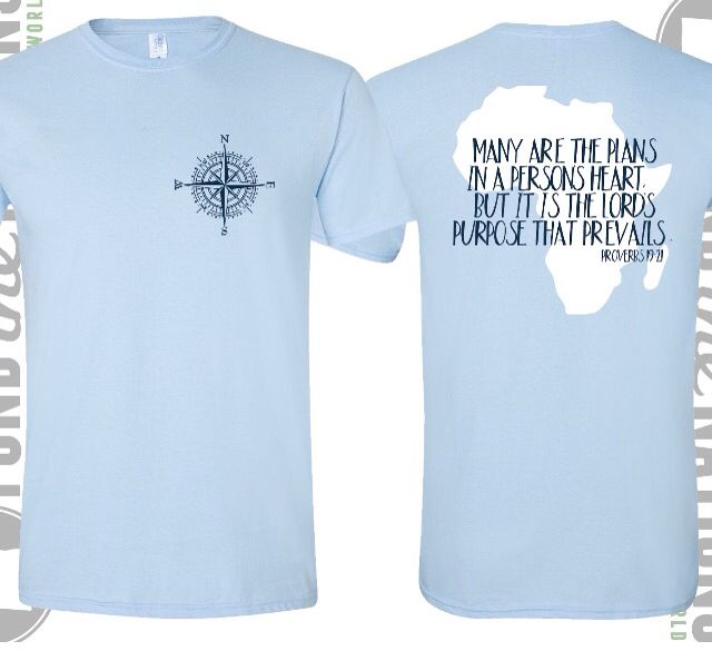I am selling these extra comfy tshirts for my mission trip to South Africa this summer! They are $25 dollars (including shipping) message me about payments and sizes if you want one ☺️ #southafricabound